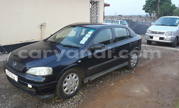 Buy Used Opel Astra Black Car in Chipata in Zambia