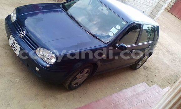 Buy Used Volkswagen Golf Blue Car in Chipata in Zambia