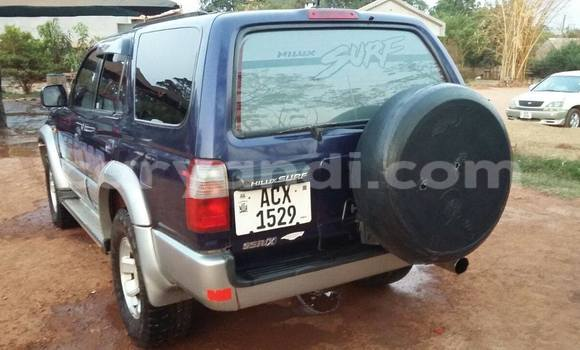 Buy Used Toyota Hilux Surf Blue Car in Chipata in Zambia