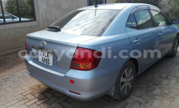 Buy Used Toyota Allion Blue Car in Chipata in Zambia