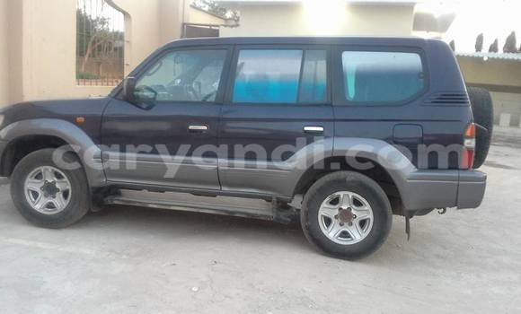 Buy Used Toyota Prado Black Car in Chipata in Zambia