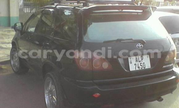 Buy Used Toyota Harrier Black Car in Chipata in Zambia
