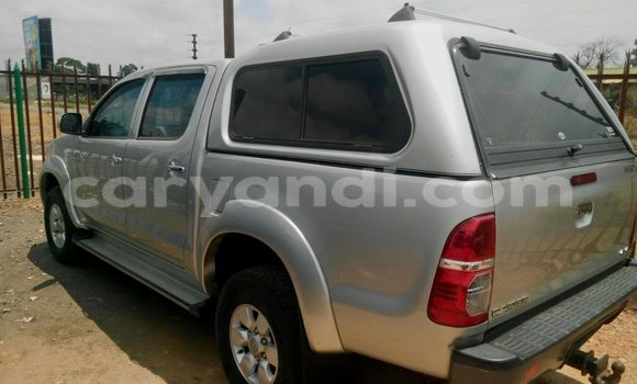 Buy Used Toyota Hilux Silver Car in Chipata in Zambia