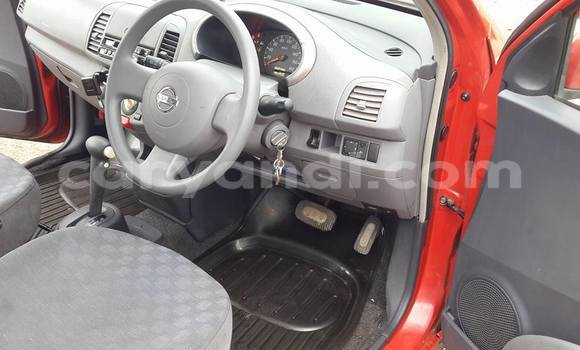 Buy Used Nissan March Red Car in Chipata in Zambia