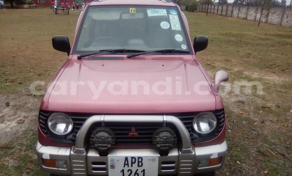 Buy Used Mitsubishi Pajero Red Car in Chipata in Zambia