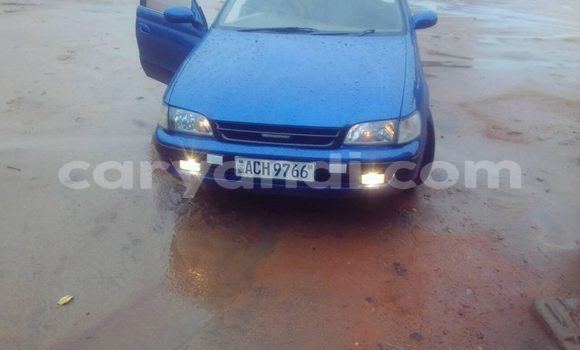 Buy Used Toyota Caldina Blue Car in Chipata in Zambia