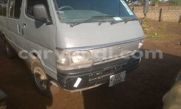 Buy Used Toyota Hiace Silver Car in Chipata in Zambia