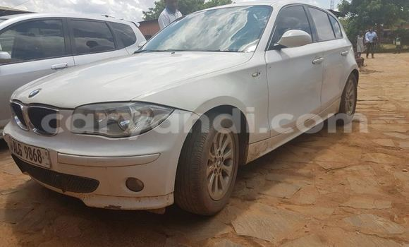 Buy Used BMW 1–Series White Car in Chipata in Zambia