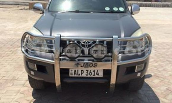 Buy Used Toyota Prado Black Car in Chingola in Zambia