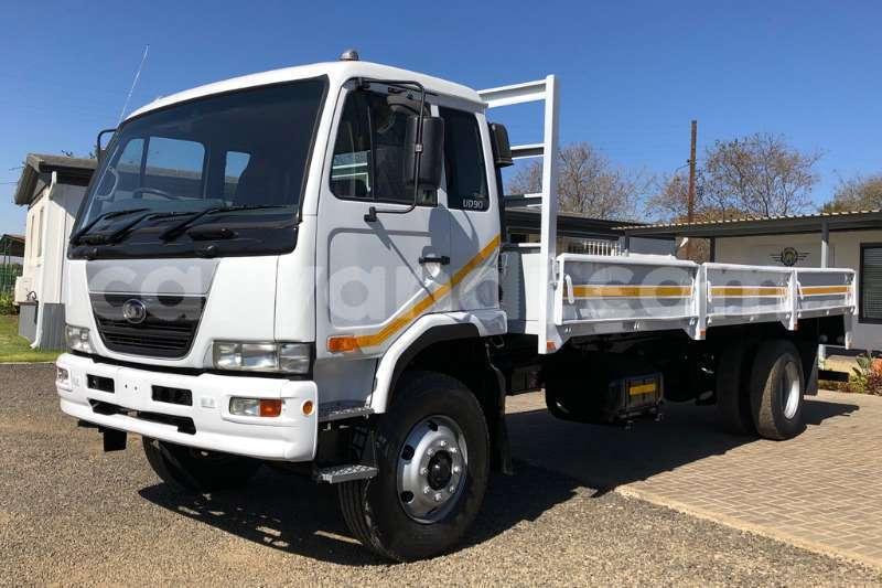 Big with watermark nissan truck dropside ud90 fitted with dropside 2008 id 63832564 type main