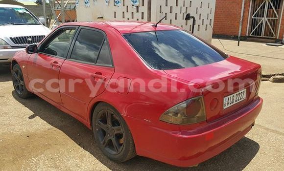 Buy Used Toyota Altezza Red Car in Chipata in Zambia