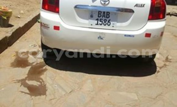 Buy Used Toyota Allex White Car in Chipata in Zambia