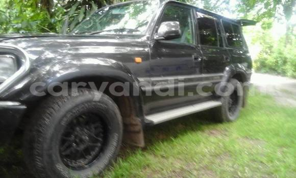 Buy Used Toyota Land Cruiser Black Car in Chipata in Zambia