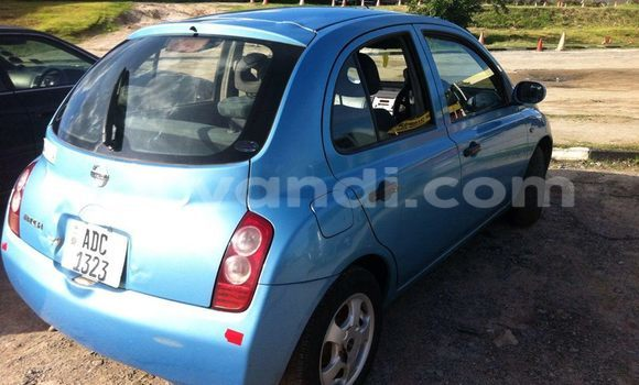 Buy Used Nissan March Blue Car in Chipata in Zambia