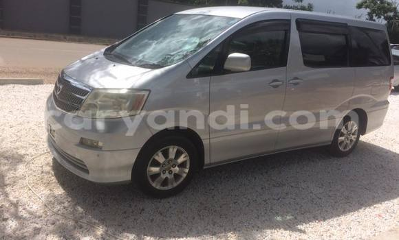 Buy Used Toyota Alphard Silver Car in Chipata in Zambia