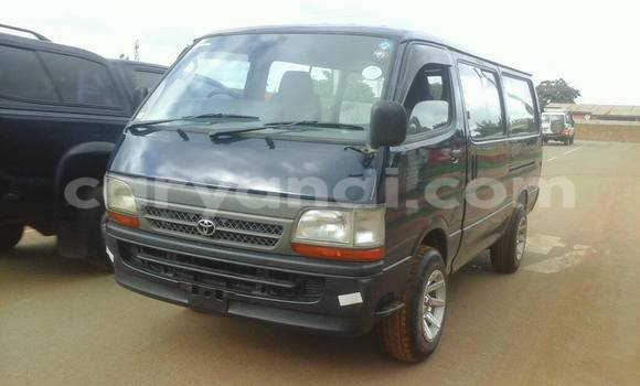 Buy Used Toyota Hiace Black Car in Chipata in Zambia