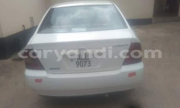 Buy Used Toyota Corolla White Car in Chipata in Zambia