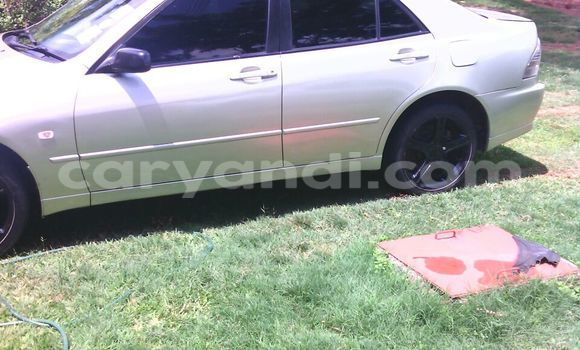 Buy Used Toyota Altezza Silver Car in Mufulira in Zambia