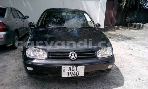 Buy Used Volkswagen Golf Black Car in Chipata in Zambia