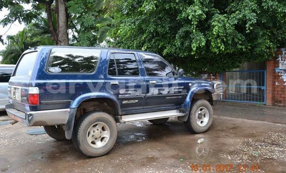 Buy Used Toyota Surf Blue Car in Chipata in Zambia