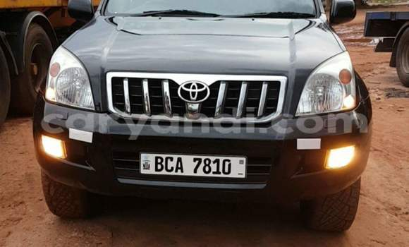 Buy Used Toyota Land Cruiser Prado Black Car in Ndola in Zambia