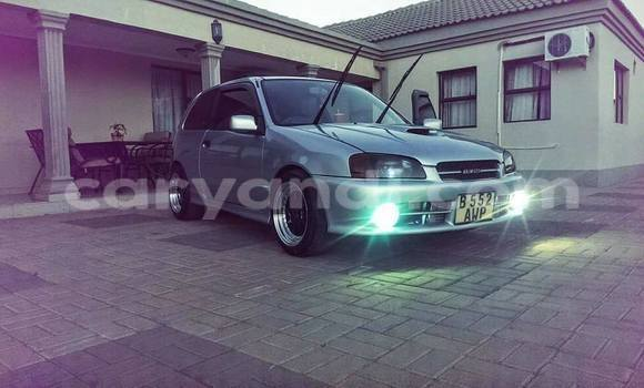 Buy Used Toyota Starlet Silver Car in Chipata in Zambia