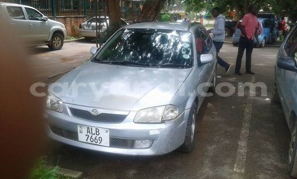Buy Used Mazda Familia Silver Car in Chipata in Zambia