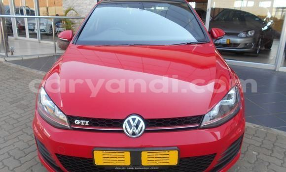 Buy Used Volkswagen Golf Red Car in Kitwe in Zambia