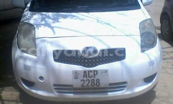 Buy Used Toyota Vitz White Car in Chipata in Zambia