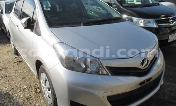 Buy New Toyota Vitz Silver Car in Chipata in Zambia
