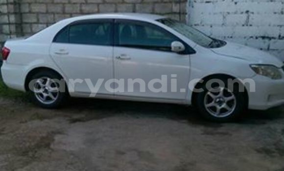 Buy Used Toyota Axio White Car in Chipata in Zambia