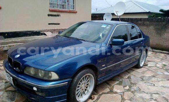 Buy Used BMW 5-Series Blue Car in Chipata in Zambia