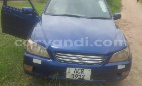 Buy Used Toyota Altezza Blue Car in Chipata in Zambia