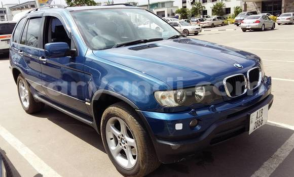 Buy Used BMW X5 Blue Car in Chipata in Zambia