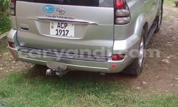 Buy Used Toyota Prado Silver Car in Chipata in Zambia