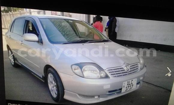 Buy Used Toyota Allex Other Car in Chingola in Zambia