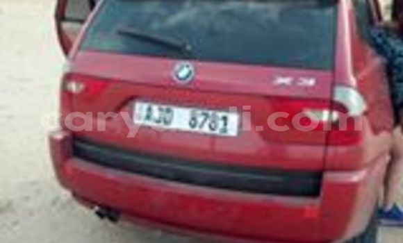 Buy Used BMW X3 Red Car in Chipata in Zambia