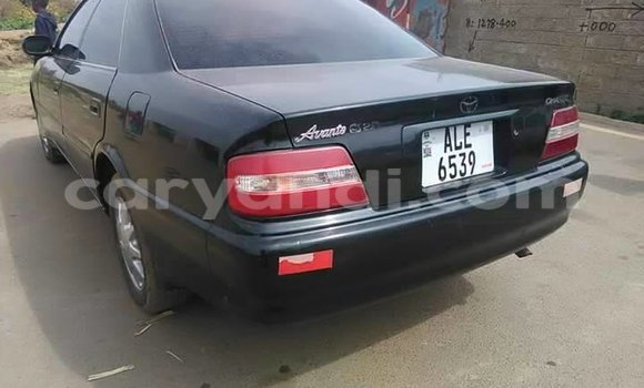 Buy Used Toyota Avensis Black Car in Chipata in Zambia