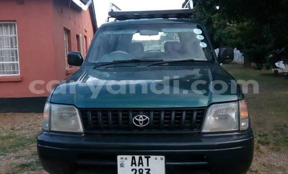 Buy Used Toyota Land Cruiser Prado Green Car in Chipata in Zambia