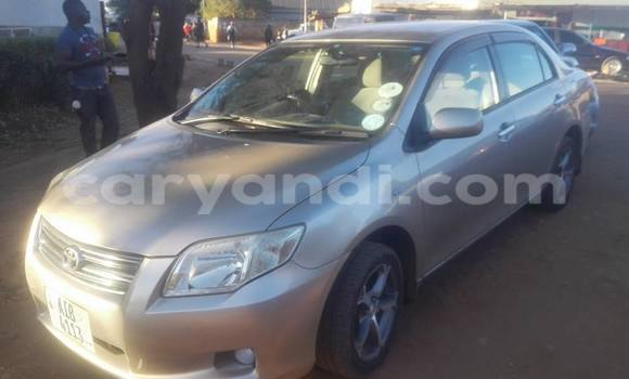 Buy Used Toyota Axio Silver Car in Chipata in Zambia