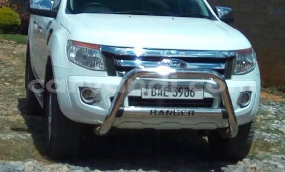 Buy Used Ford Ranger White Car in Chipata in Zambia
