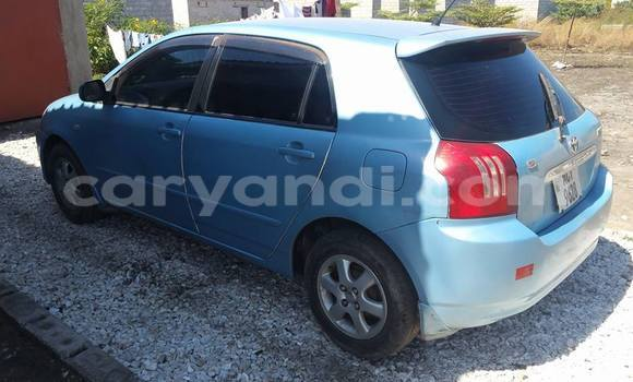 Buy Used Toyota Runx Blue Car in Chipata in Zambia