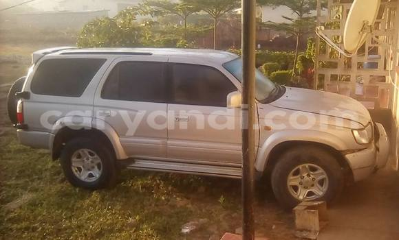 Buy Used Toyota Surf Silver Car in Chipata in Zambia