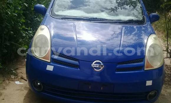 Buy Used Nissan Note Blue Car in Chipata in Zambia