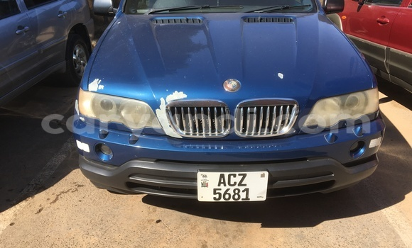 Buy Used BMW X5 Blue Car in Ndola in Zambia
