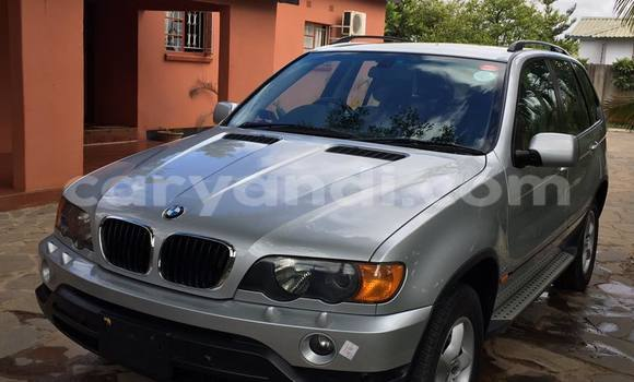 Buy Used BMW X5 Silver Car in Lusaka in Zambia