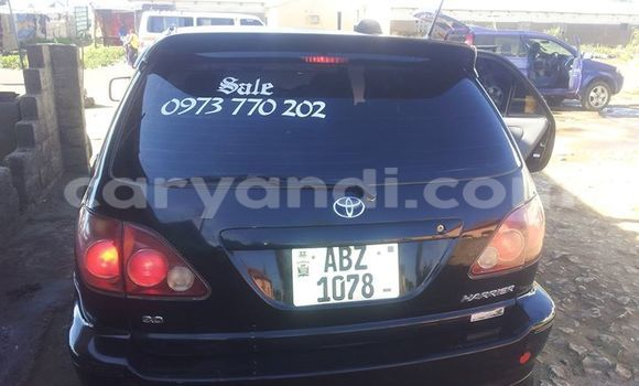 Buy Used Toyota Harrier Black Car in Lusaka in Zambia