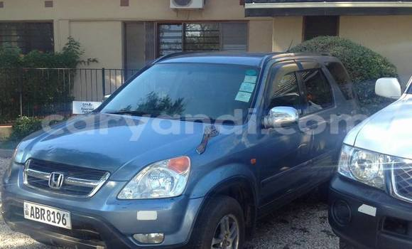 Buy Used Honda CR–V Blue Car in Lusaka in Zambia