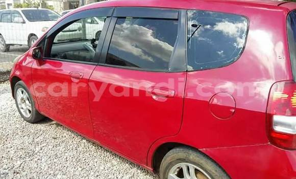 Buy Used Honda Fit Red Car in Lusaka in Zambia