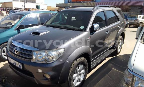 Buy Used Toyota Fortuner Black Car in Lusaka in Zambia